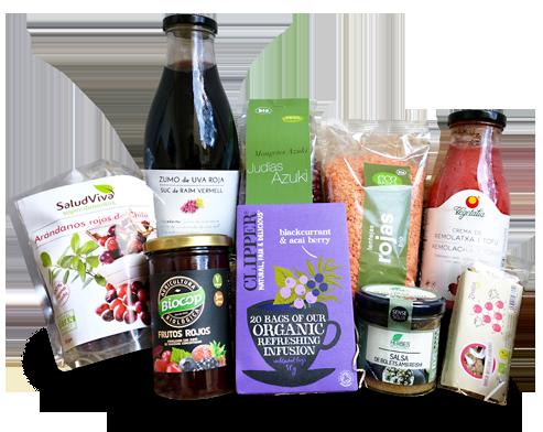 Entrega a domicilio en Barcelona de productos antiox y antiaging 100% bio