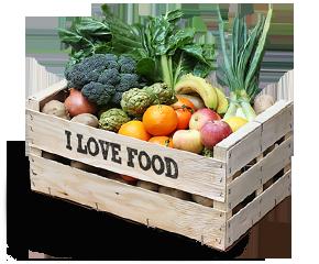 Entrega a domicilio en Barcelona de frutas y verduras bio / orgánicas