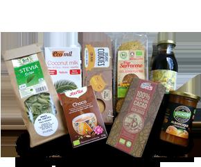 Entrega a domicilio en Barcelona de productos sin azúcar bio: organic sugar-free