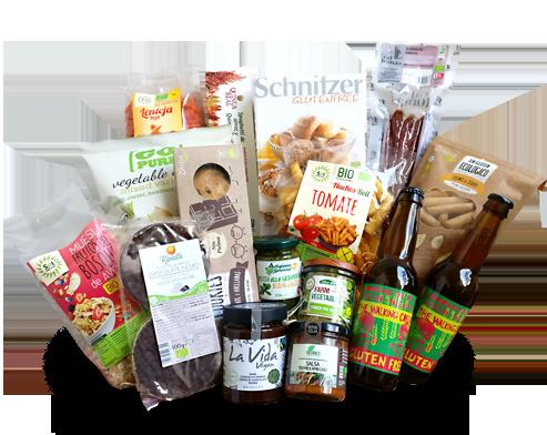 Entrega a domicilio en Barcelona de productos sin gluten bio: organic gluten-free